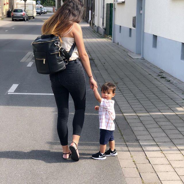 Momside Bebek Bakım Çantası Siyah